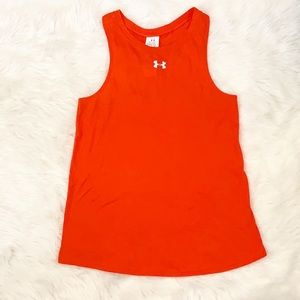 UNDER ARMOUR WORKOUT TANK TOP KEY HOLE ACCENT